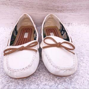 Patrizia Spring step Loafers, white, size 6.5